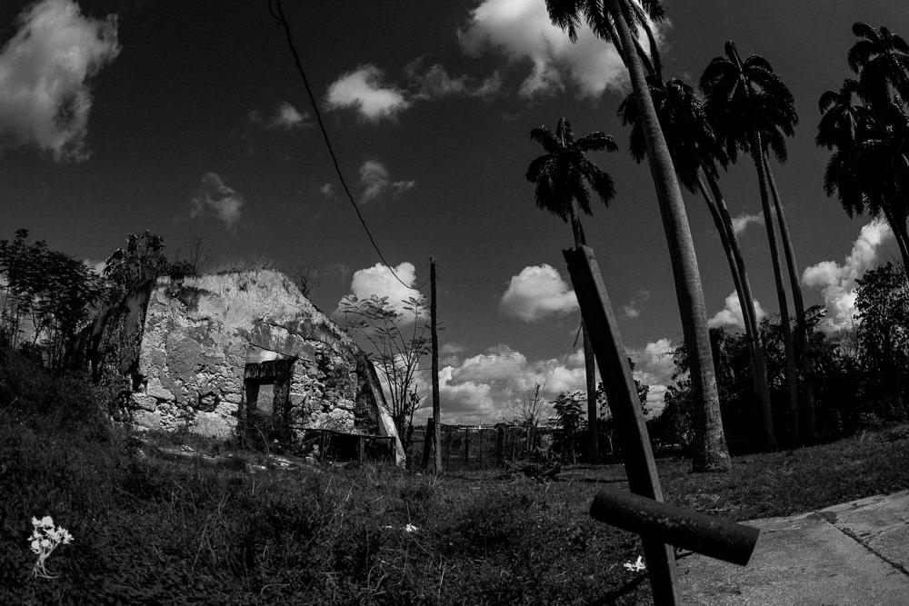 Ruínas da antiga casa-grande do Engenho Los Molinos, em Matanzas 3