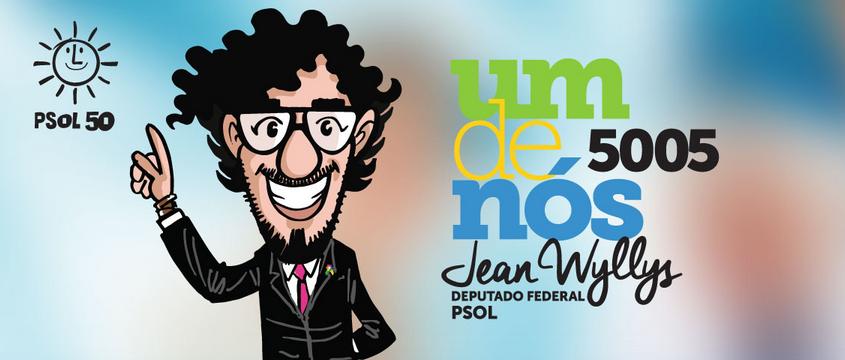 jean wyllys 5005 – deputado federal