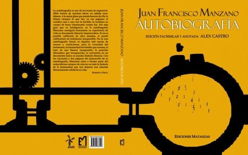 Autobiografía  Manzano, cubierta