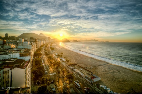 Copacabana-sunrise