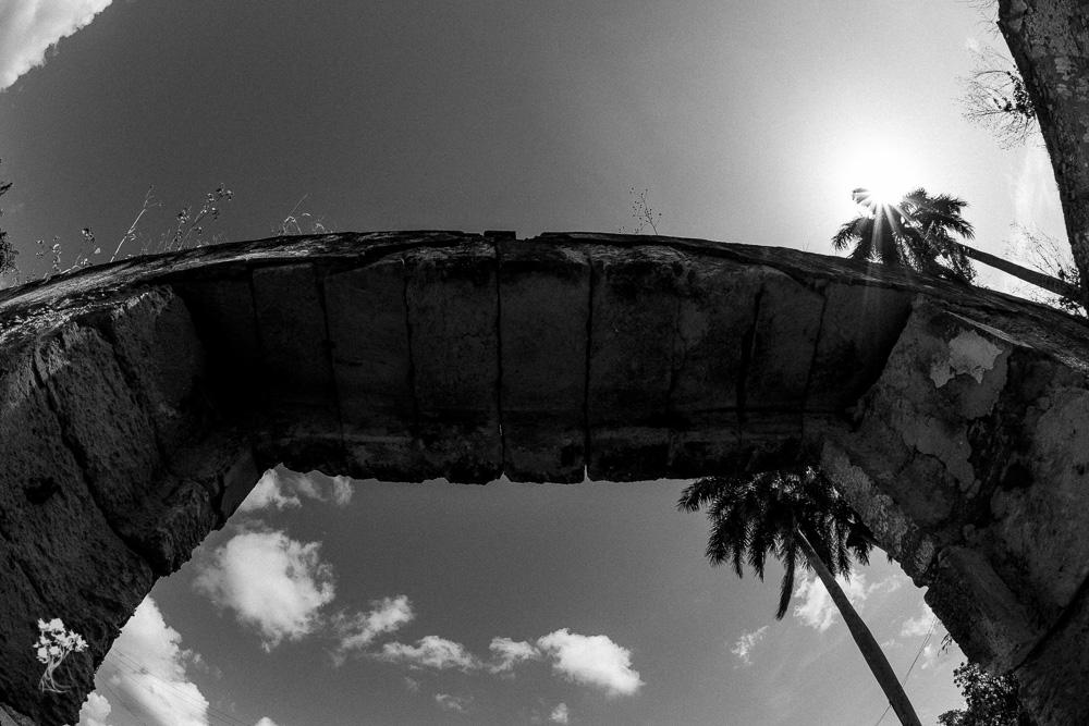 Ruínas da antiga casa-grande do Engenho Los Molinos, em Matanzas 7