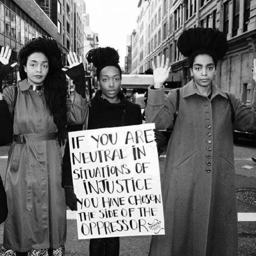 if you are neutral in injustice you chose side of oppressor