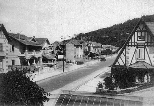 minha rua em 1929.